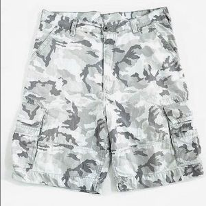 LEVI'S The Squad Glacier Grey Twill Cargo Shorts